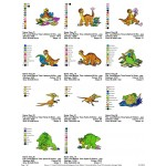 Package 11 Land Before Time 02 Embroidery Designs