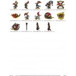 Package 14 Woody Woodpecker 02 Embroidery Designs