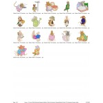 Package 17 Beatrix Potter 01 Embroidery Designs