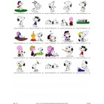 Package 25 Snoopy 02 Embroidery Designs