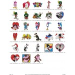Package 28 Looney Tunes 02 Embroidery Designs