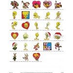 Package 28 Looney Tunes 03 Embroidery Designs