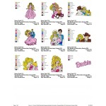 Package 9 Barbie 02 Embroidery Designs