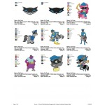 Package 9 Sly Cooper Embroidery Designs