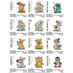 Package Animals Baby Embroidery Designs 03