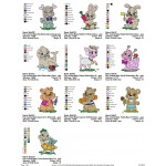 Package Animals Baby Embroidery Designs 04