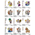 Package Bozo 02 Embroidery Designs