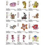 Package Bozo 03 Embroidery Designs