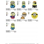 Package Despicable Me Embroidery Designs 03