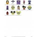 Package Despicable Me Embroidery Designs 04