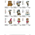 Package Gravity Falls 01 Embroidery Designs