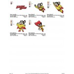 Package Mighty Mouse Embroidery Designs