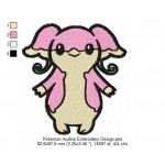 Pokemon Audino Embroidery Design