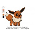 Pokemon Eevee Embroidery Design