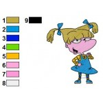 Rugrats Angelica Pickles 02 Embroidery Design
