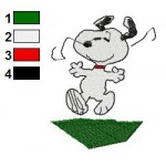 Snoopy 07 Embroidery Design