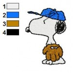 Snoopy 11 Embroidery Design