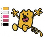 Wow Wow Wubbzy 03 Embroidery Design