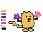 Wow Wow Wubbzy 09 Embroidery Design