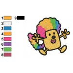 Wow Wow Wubbzy 10 Embroidery Design