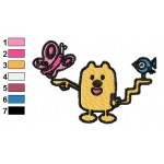 Wow Wow Wubbzy 11 Embroidery Design