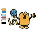 Wow Wow Wubbzy 12 Embroidery Design